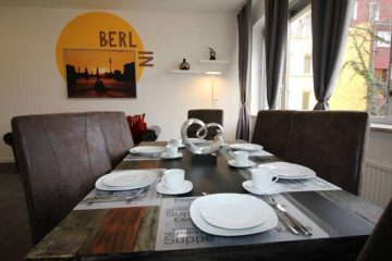 Comfortable furnished 3 rooms apartment for rent in Tempelhof, 12099 Berlin, Etagenwohnung
